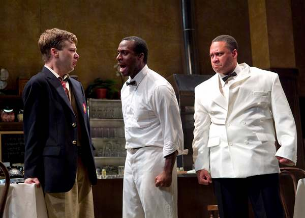 Guiesseppe Jones as Sam in Master Harold and the Boys